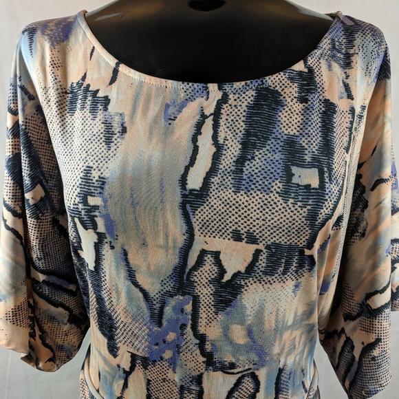 BCBGMaxAzria Dresses & Skirts - BCBG MAXAZRIA  Pastel Snake Print Dress XL